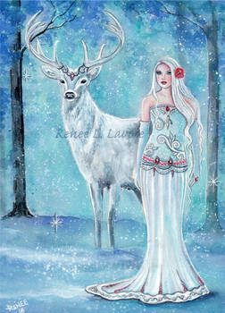 Nordic winter goddess