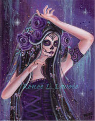 Dance of death day of the dead by Renee L Lavoie