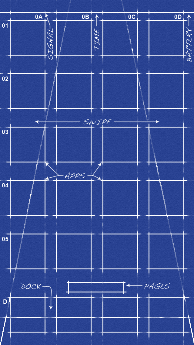 Blueprint for iPhone 5