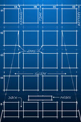 Blueprint for iPhone 4(4S)