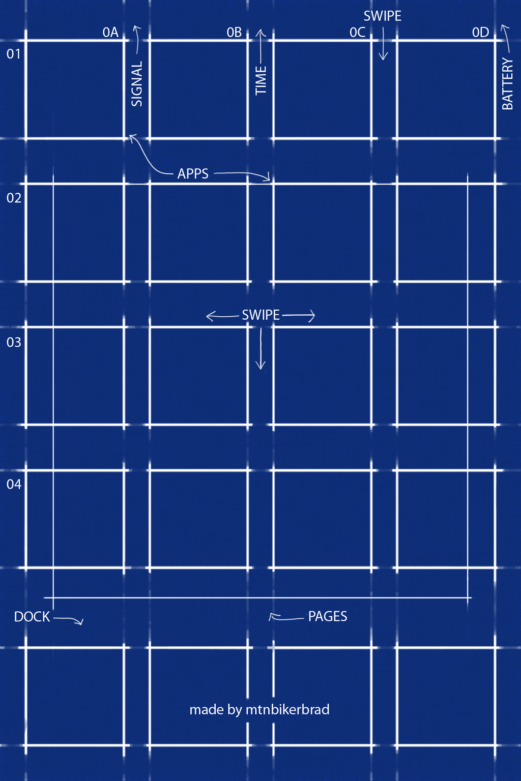 Blueprint for ios7 iphone 4 4s by mtnbikerbrad on deviantart blueprint for ios7 iphone 4 4s by mtnbikerbrad malvernweather Gallery