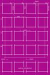 Pinkprint - Flat iOS7 Wallpaper