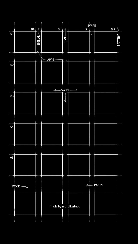 iOS7 Walpaper 5 Test Large by mtnbikerbrad