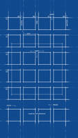 Official BluePrint Wallpaper for iOS 7 Parallax