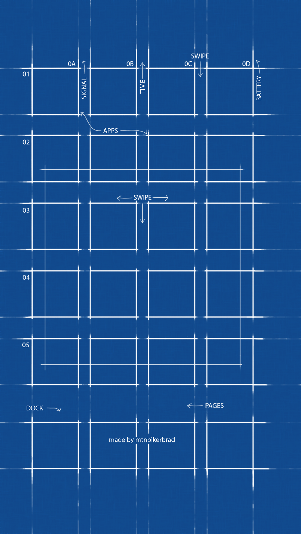 Official blueprint wallpaper for ios 7 parallax by mtnbikerbrad on official blueprint wallpaper for ios 7 parallax by mtnbikerbrad malvernweather Images