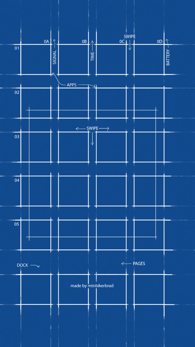 Great Official BluePrint Wallpaper For IOS 7 Parallax By Mtnbikerbrad ...