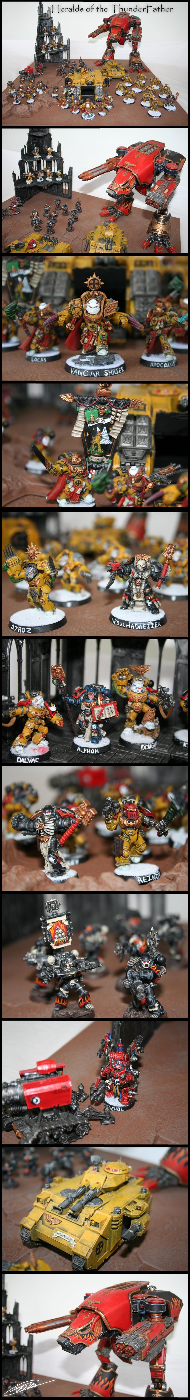 Heralds of the Thunderfather by VangarShriek