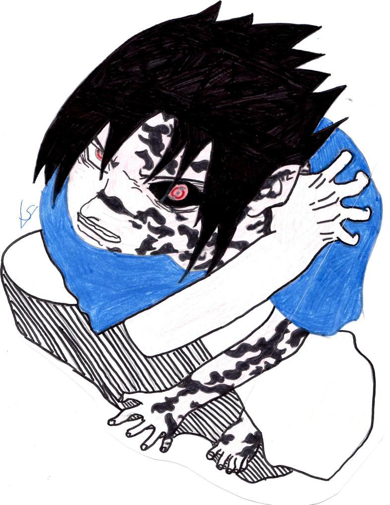 Sasuke Curse Mark by Uchiha-Akatsuki-Fan1 on DeviantArt