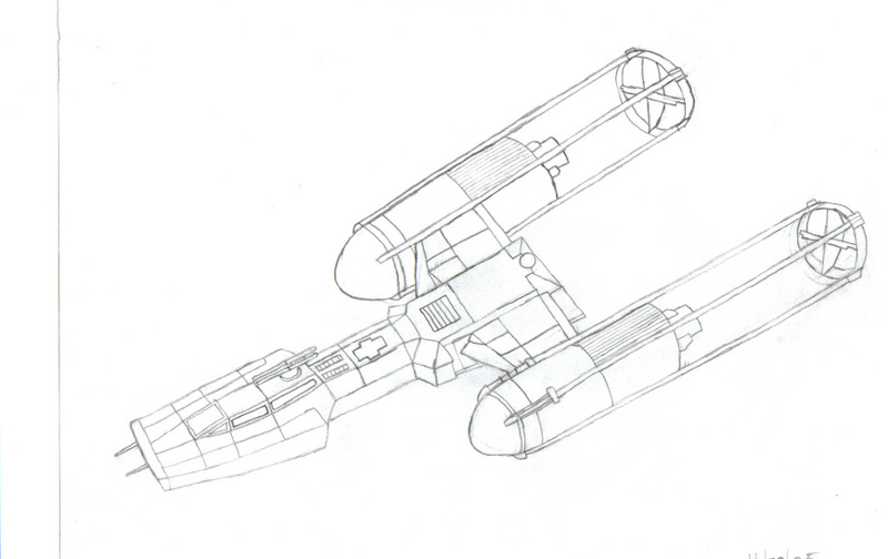 Star wars y wing coloring pages for Star wars x wing coloring pages