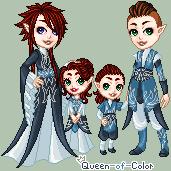 p: Kian Family Portrait by Queen-of-Color