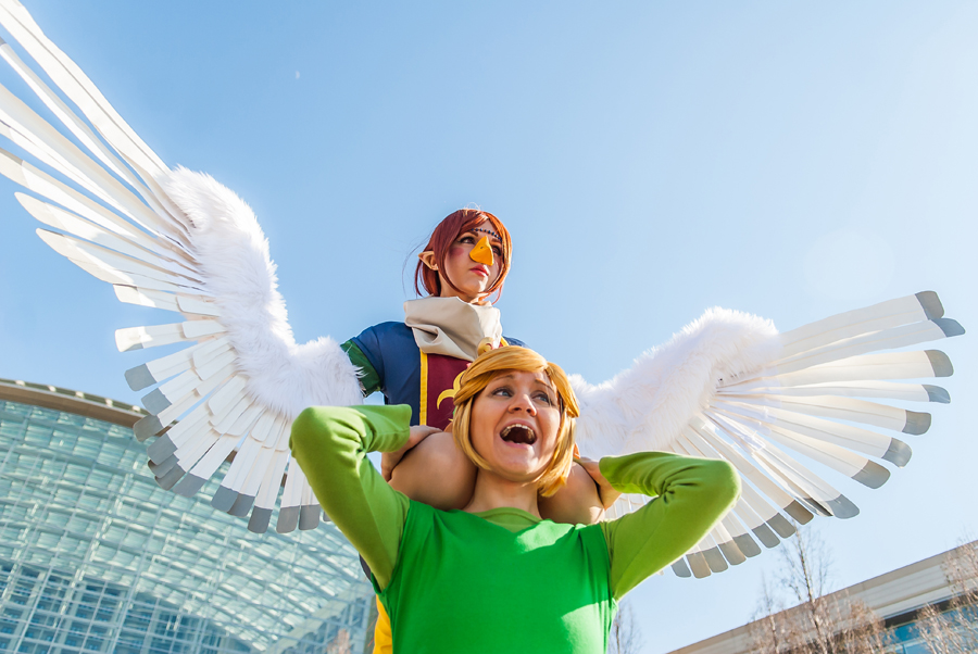 Wind Waker: Take to the Skies by MangoSirene