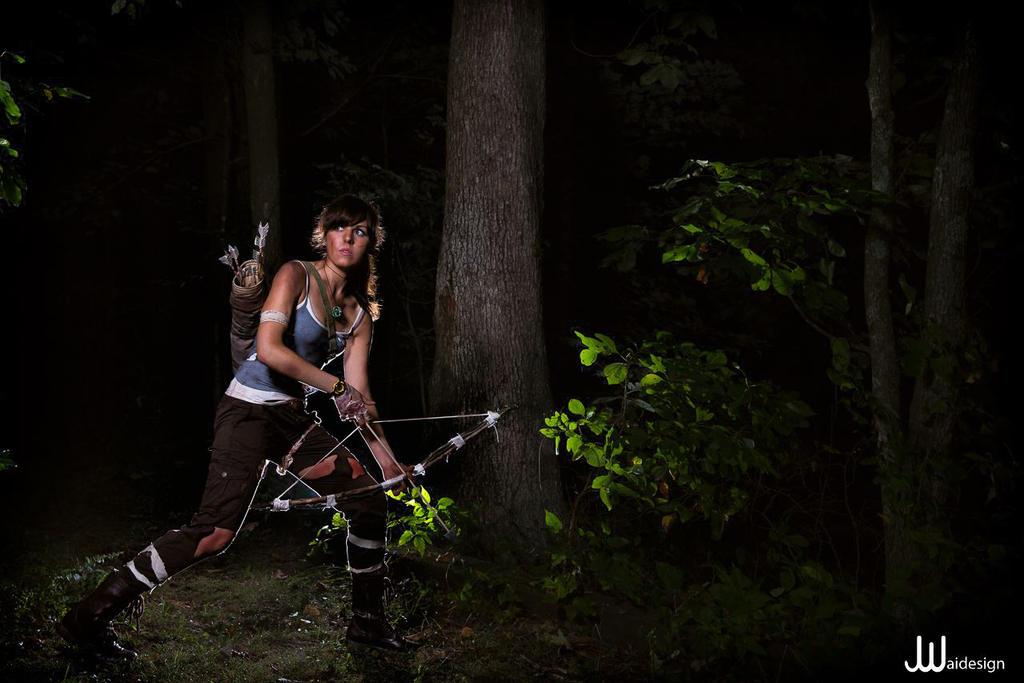 Tomb Raider: Exploring the Island by MangoSirene