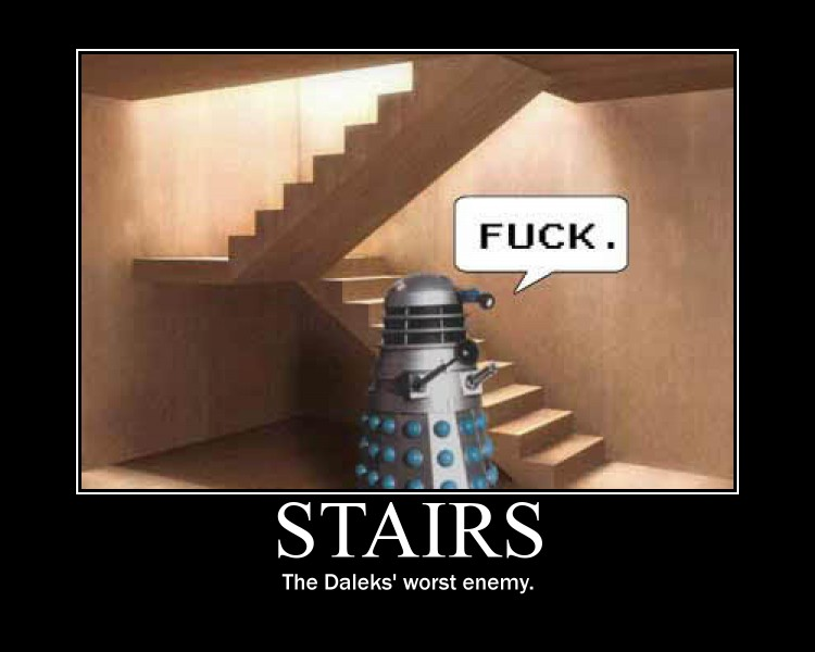 Daleks Motivational Poster by Neos-Two