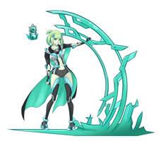 Hikariko character concept - Belesta by Lumanic