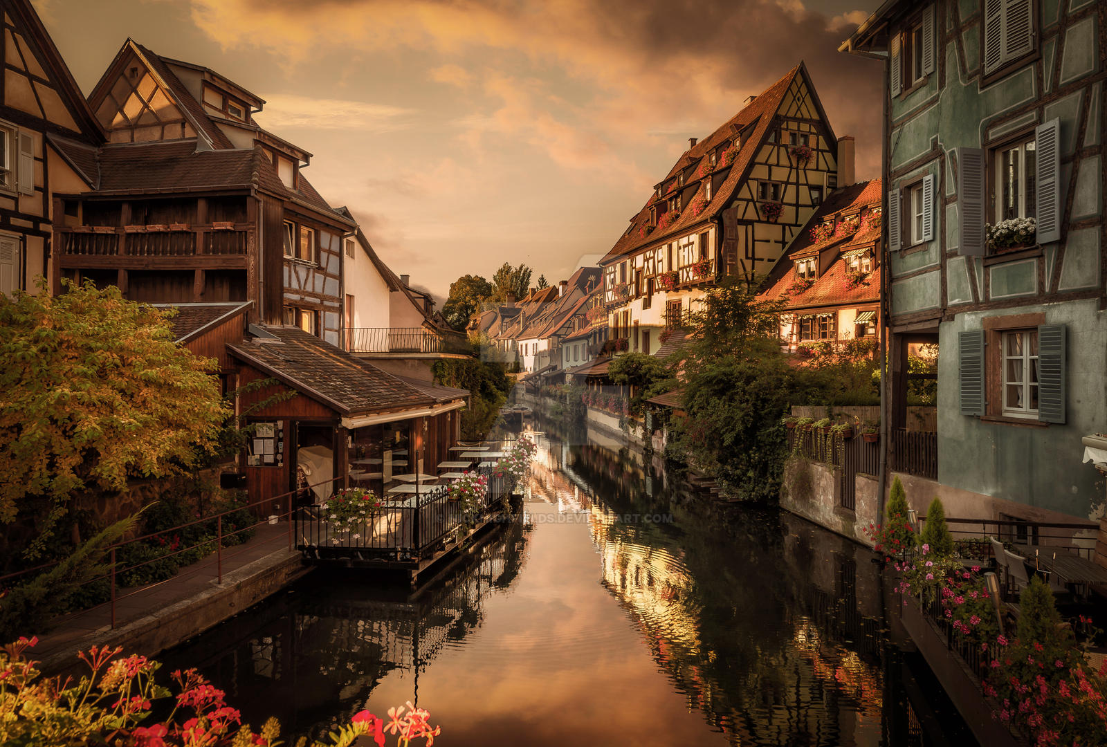 little venice colmar france by nickhighfields on deviantart. Black Bedroom Furniture Sets. Home Design Ideas