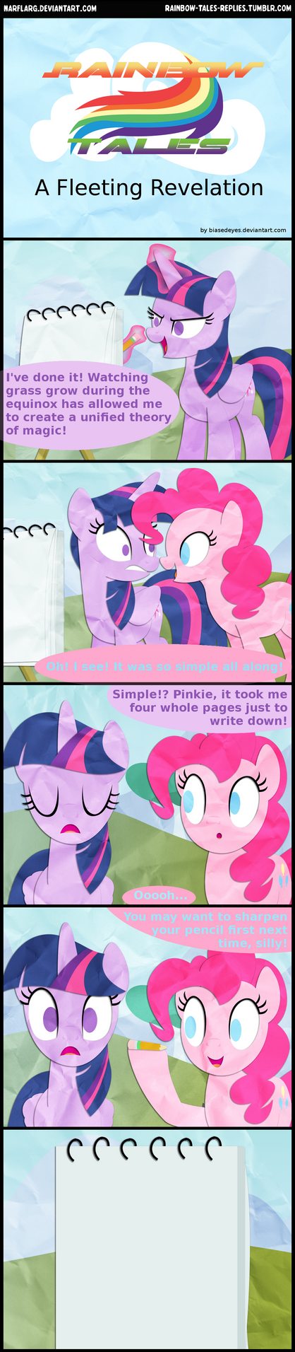 A Fleeting Revelation by biasedeyes