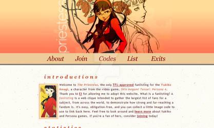 The Priestess: Yukiko Amagi