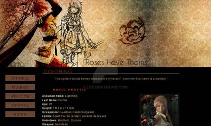 Rose Have Thorns V1