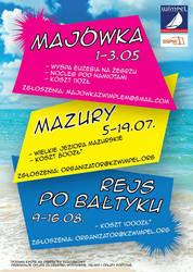 Sailing Club trips poster