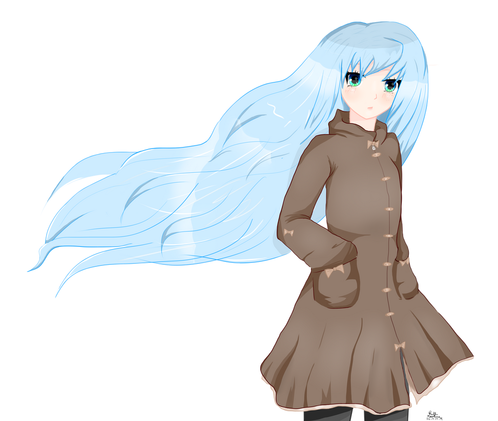 Výsledek obrázku pro anime girl transparent