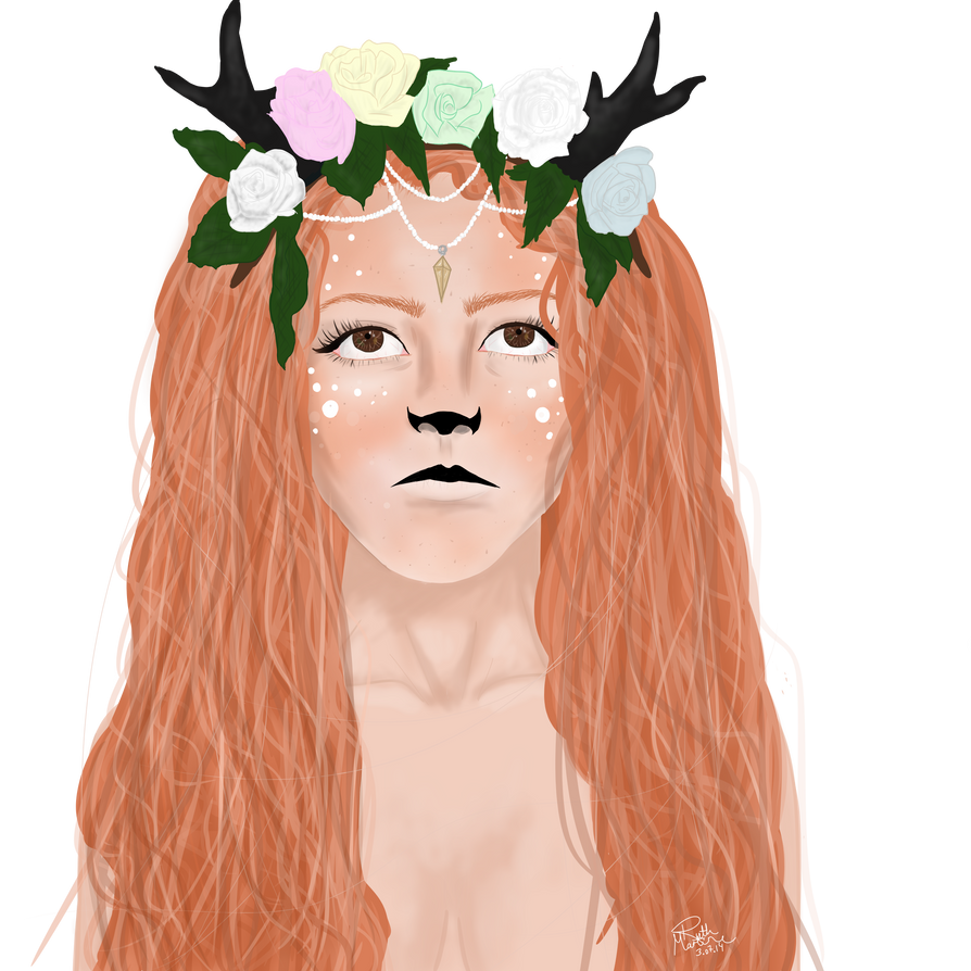 Flower crown fawn girl transparent by kingparkz on deviantart flower crown fawn girl transparent by kingparkz izmirmasajfo
