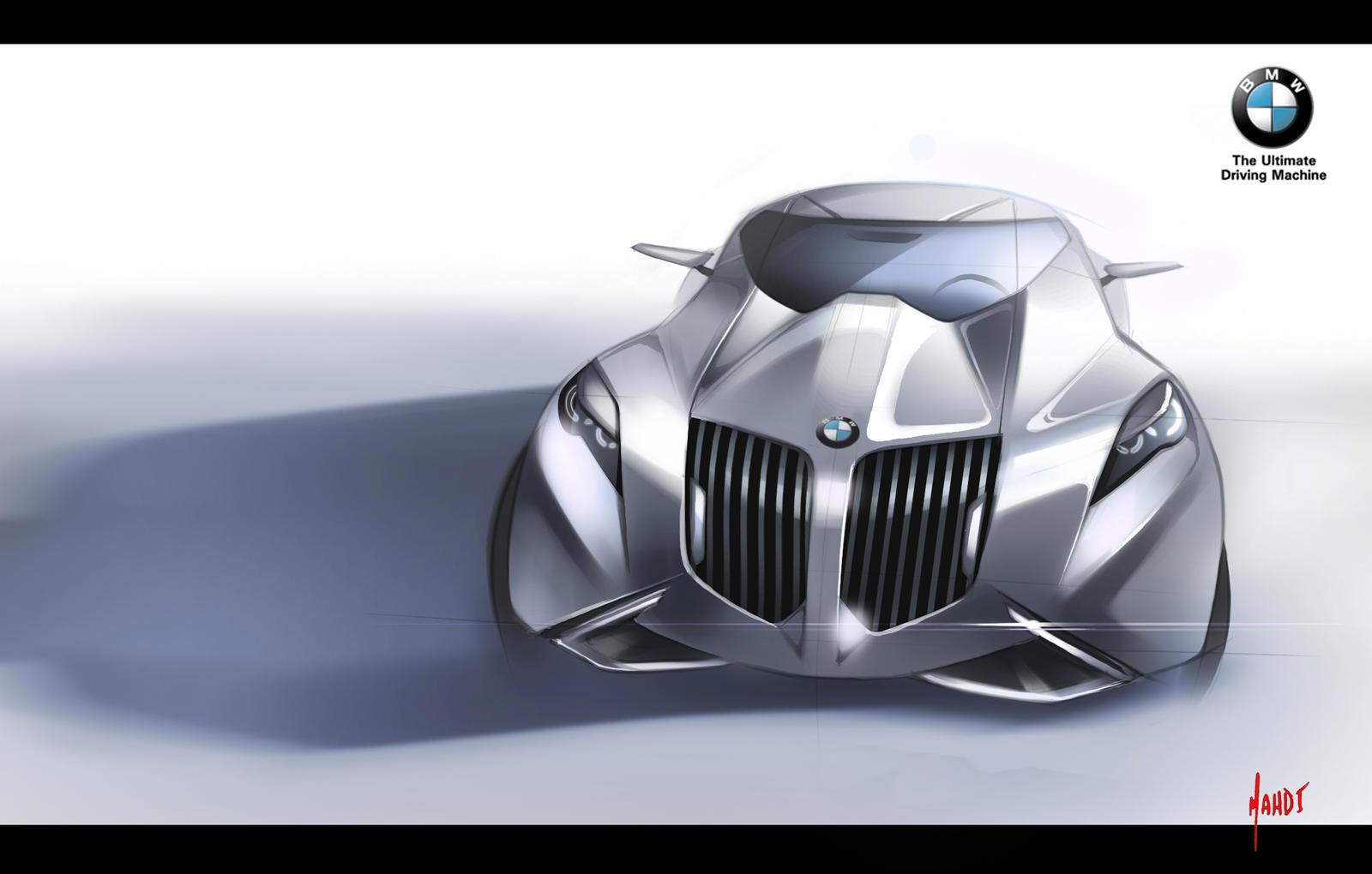 BMW coupe concept by sk8nrail