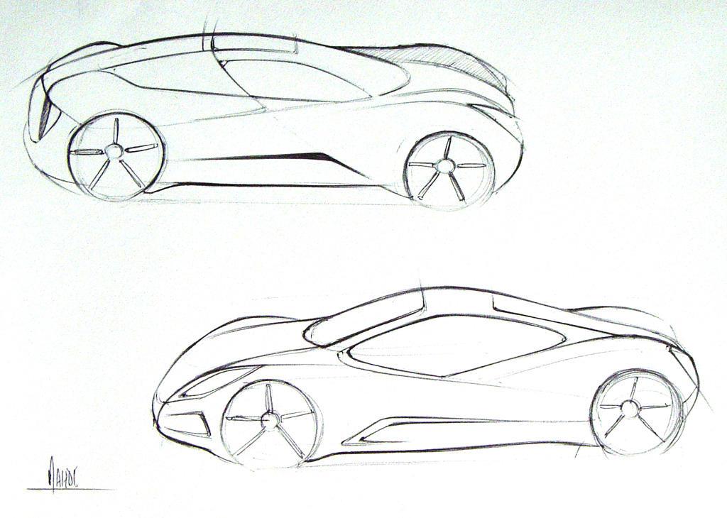 car sketch by sk8nrail on DeviantArt