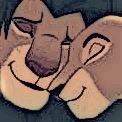 Simba and Nala Love Icon by KyotaWolf