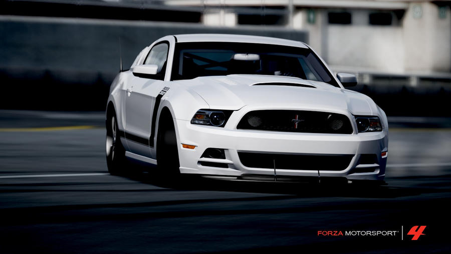 ford mustang boss 302 white by ap3xistars on deviantart - Ford Mustang 2013 White