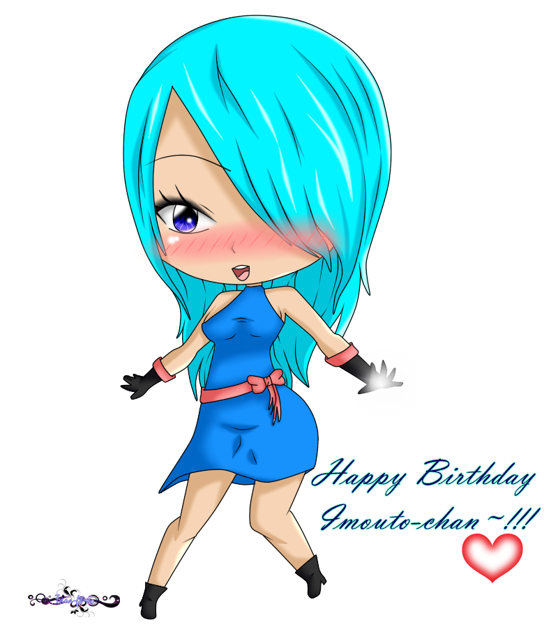 Happy Birthday Little Sister Gift By KasA Arts