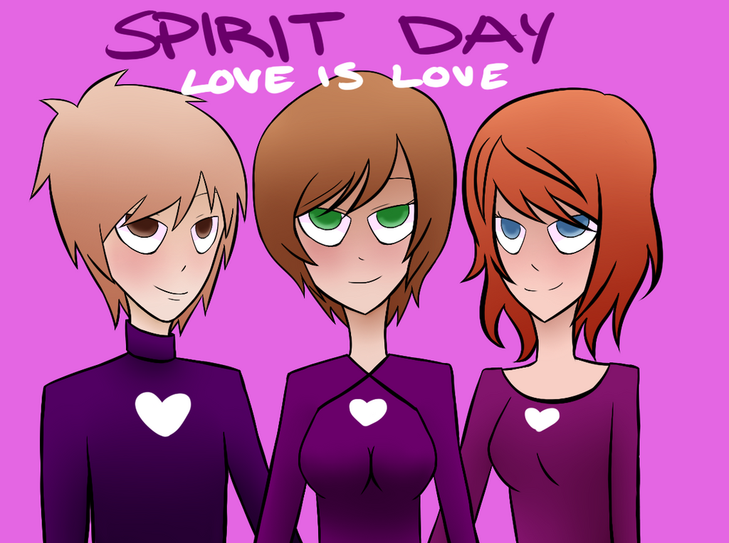 Spirit Day - Love is Love by zackstrider
