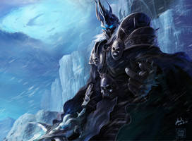 The Lich King Arthas by theTelekinesis