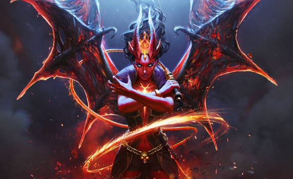 Queen of Pain Arcana
