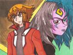 YGO-GX: Judai and Yubel