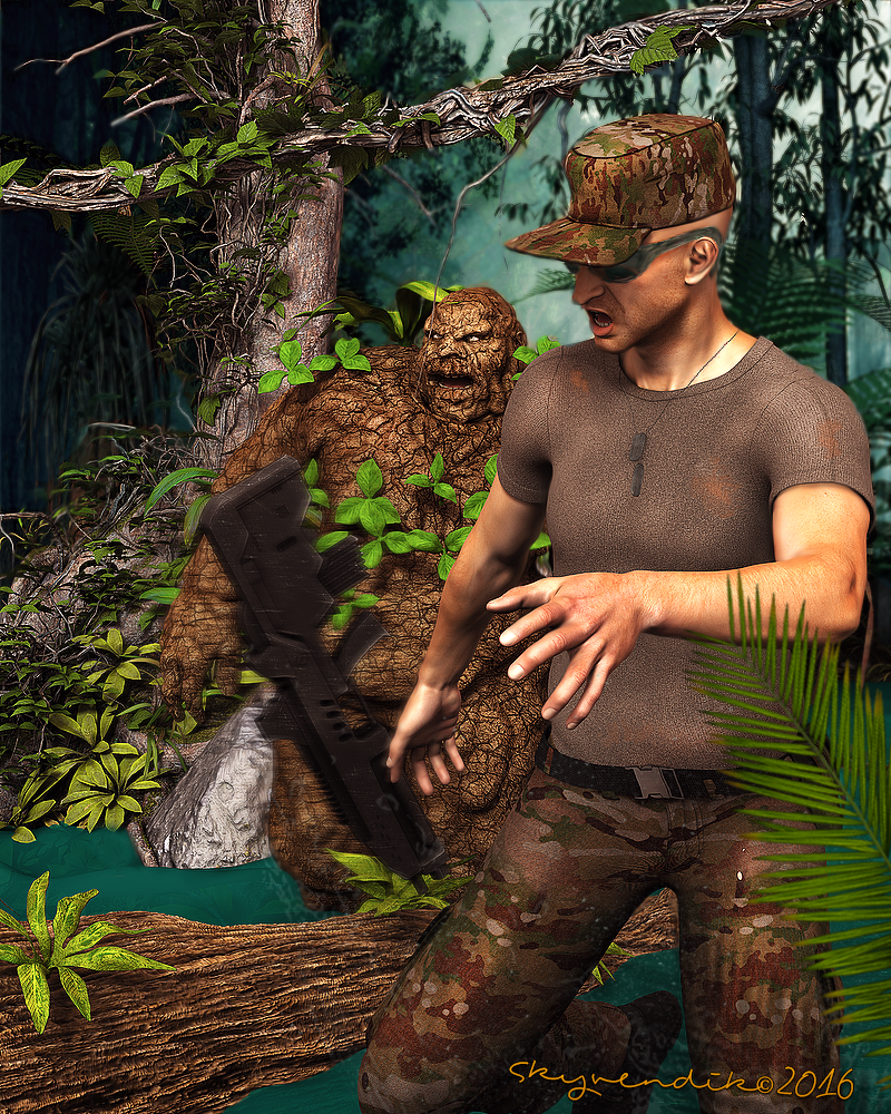 Hero from the jungle by skyvendik