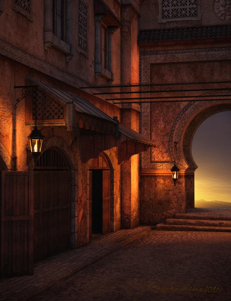 Marrakech by skyvendik