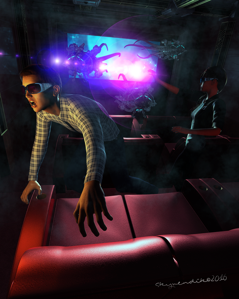 Too much effects in 3D cinema by skyvendik
