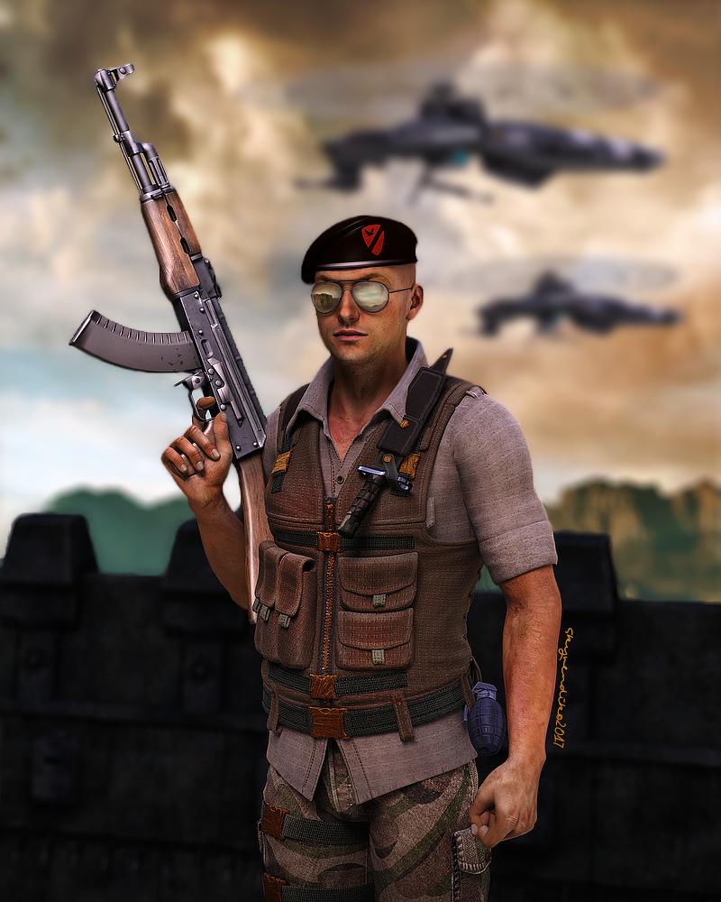 On duty by skyvendik
