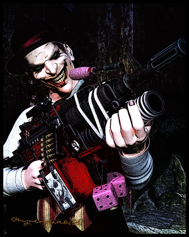 Evil Clown by skyvendik