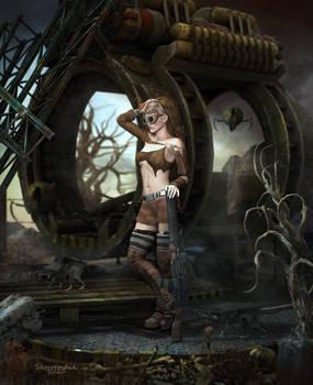 Anastasia - apocalyptic clan leader
