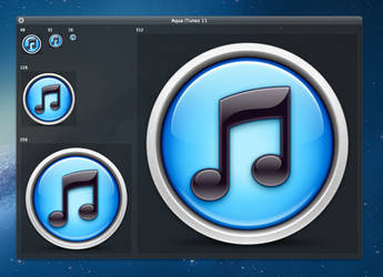 iTunes 11 Icon Replacement Concept