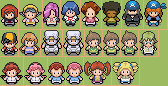 Overworld Sprites by chowderlover45