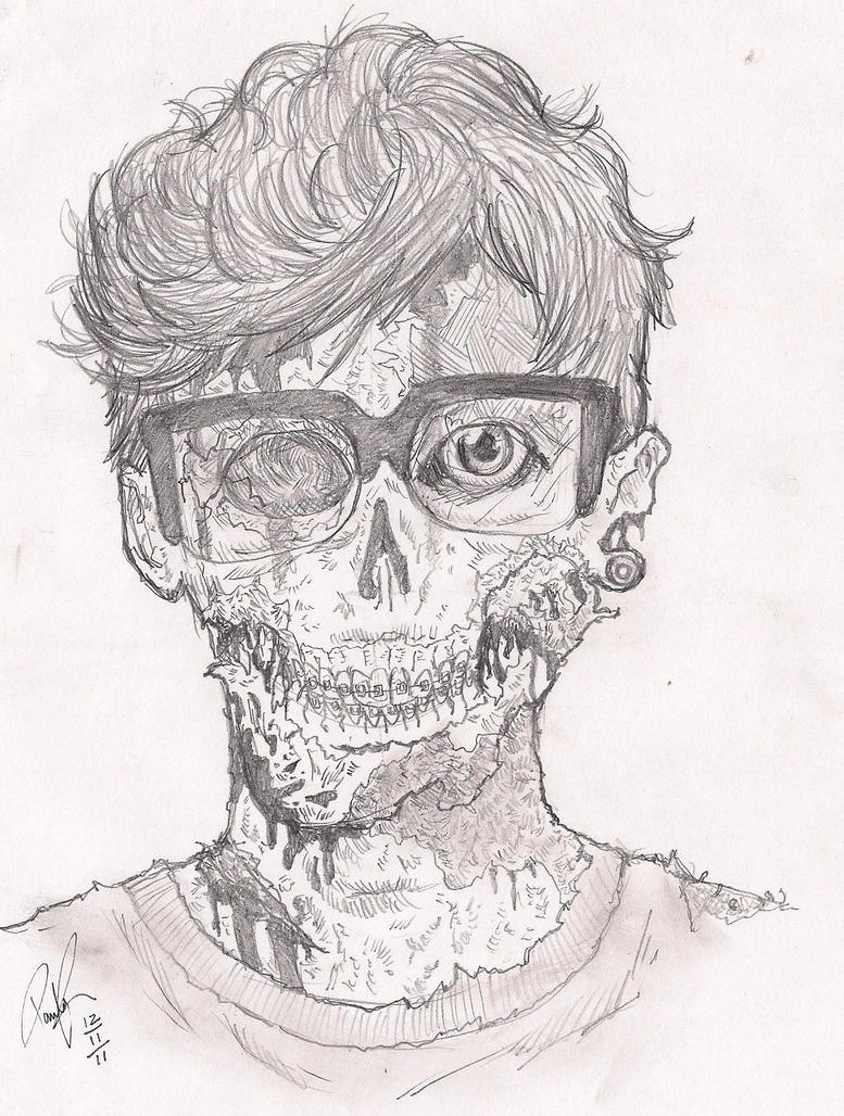 Me in zombie version by DRPauloR