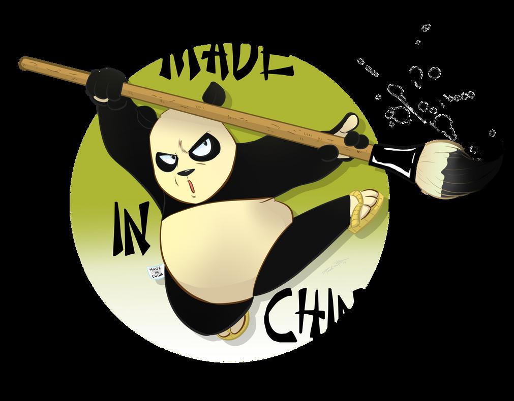 Mestre Panda Nankin by DRPauloR