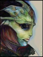 Thane | Mass Effect by sniperdusk