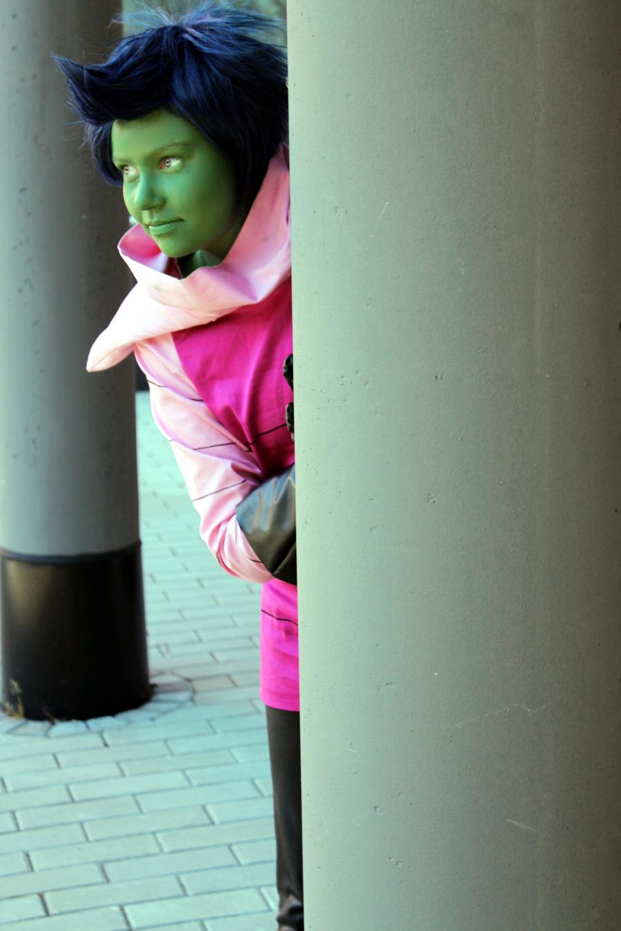 gaz Invader cosplay zim