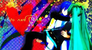 Kaito and Miku...