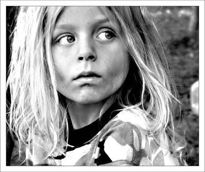 feral child by iamkatia