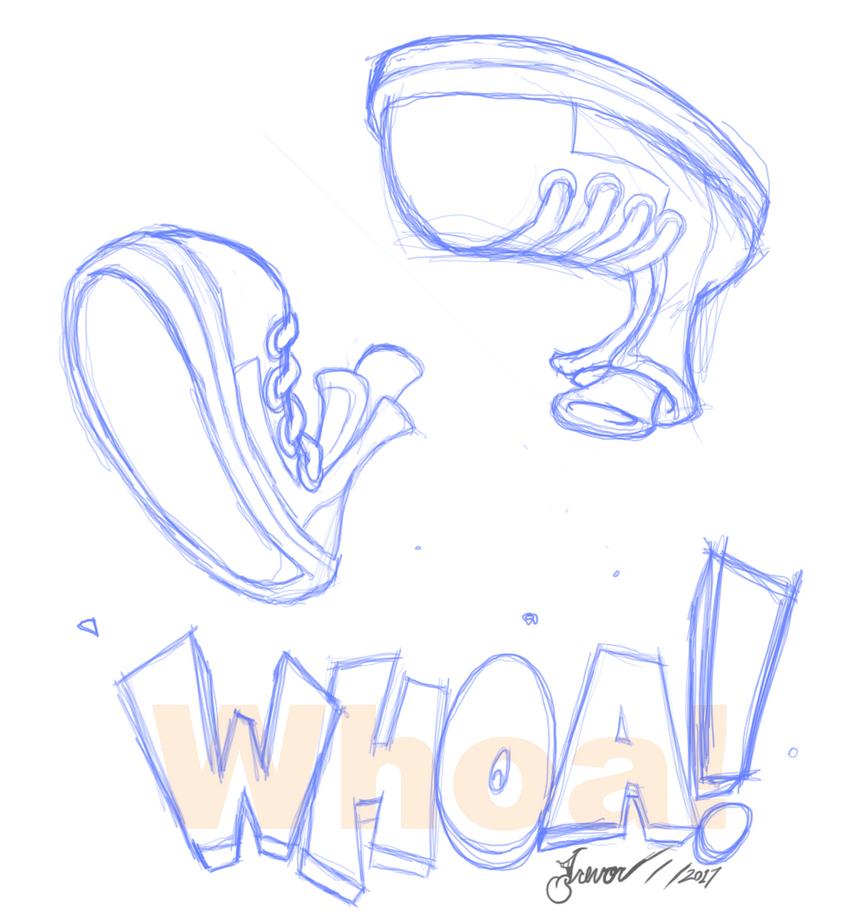 Crash whoa! T-shirt sketch by Rovertarthead