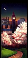 -city scape- by dizzyclown